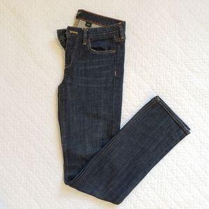 J. Crew Factory Matchstick Jeans Dark Wash Skinny